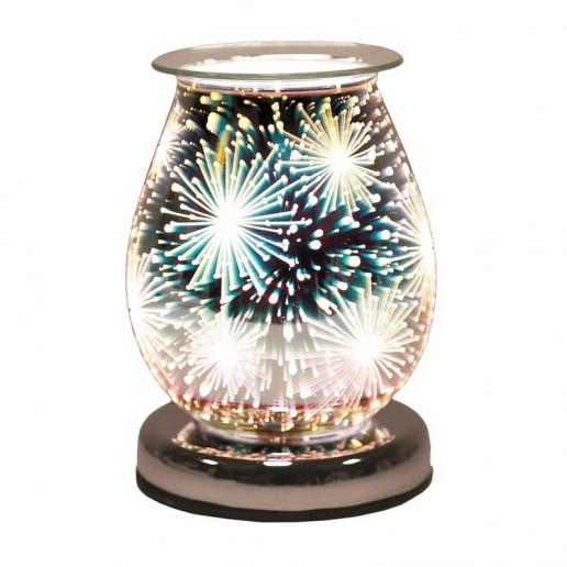 Oval 3D Electric Wax Melt Oil Burner - Supernova
