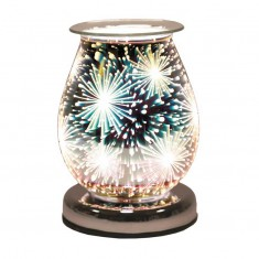 Oval 3D Electric Wax Melt Oil Burner - Supernova