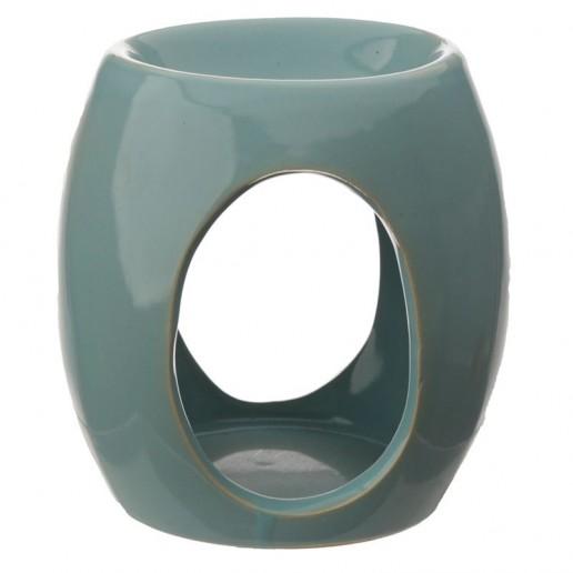 Oval Cut - Out Wax Melt Burner Blue