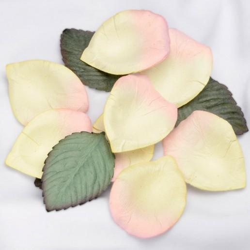 Paper Petals Confetti - Ivory Pink