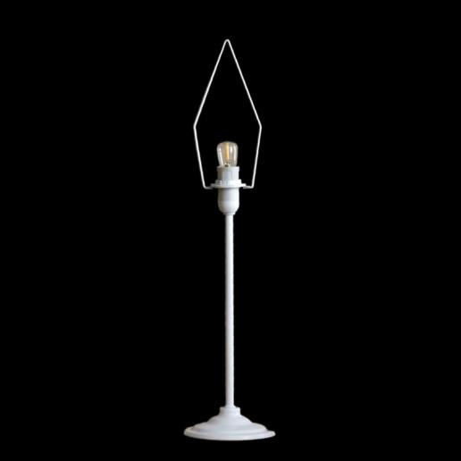 Paper Star Light Stand 35cm White