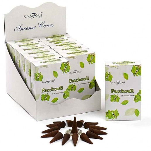 Patchuli - Stamford Incense Cones
