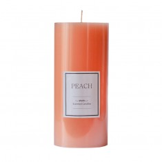Peach - Large Scented Pillar Candle