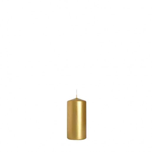 Pillar Candle 10cm x 5cm - Gold