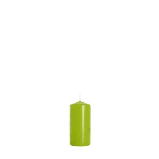 Pillar Candle 10cm x 5cm - Light Green