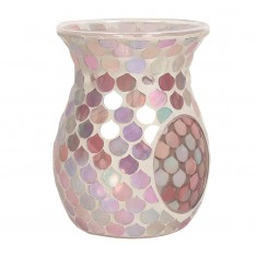 Pink Droplet Wax Melt Oil Burner