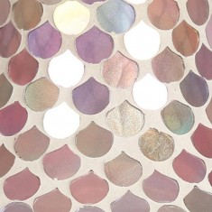 Pink Droplet Yankee Candle Jar Lamp Shade zoom