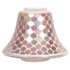 Pink Droplet Yankee Candle Jar Lamp Shade