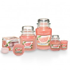 Yankee Candles - Pink Grapefruit Scented Candles
