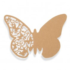 Place Card Butterfly - Brown