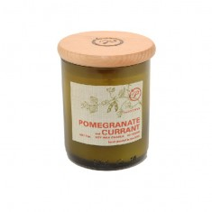 Pomegranate & Currant - Eco Green Paddywax Cut Wine Bottle Soy Wax Candle