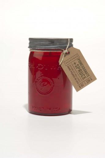 Pomegranate & Spruce Large Jar - Relish Vintage Paddywax Candle