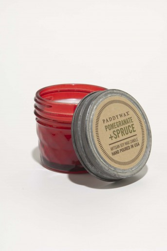 Pomegranate & Spruce Small Jar - Relish Vintage Paddywax Candle