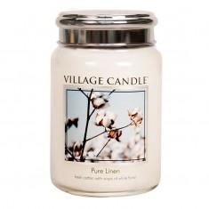 Pure Linen - Village Candle Large Jar