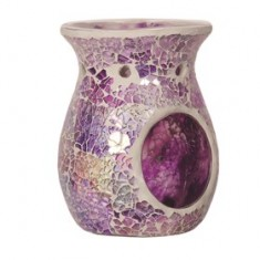 Purple Crackle Wax Melt Oil Burner