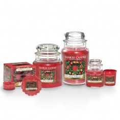 yankee candle red apple wreath scented candles
