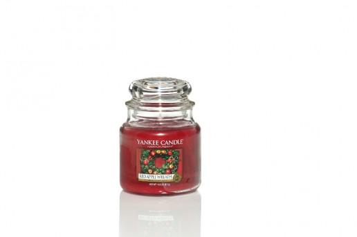 Red Apple Wreath - Yankee Candle Medium Jar