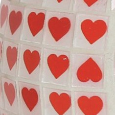 Red Heart Wax Melt Oil Burner zoom