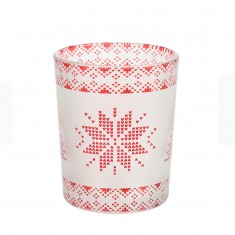 Red Nordic - Yankee Candle Votive Holder