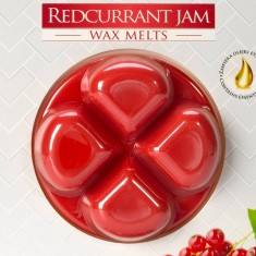 Redcurrant Jam Wax Melts closeup