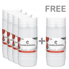 Refill Candle 3 Day For Graveyards