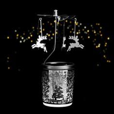 Reindeer - Spinning Tea Light Candle Holder