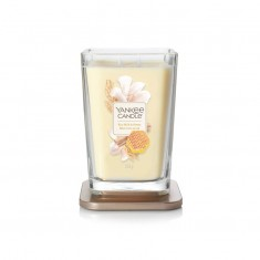 Rice Milk & Honey - 2 - wick Large Jar Elevation Collection Open