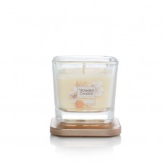Rice Milk & Honey - Small Jar Elevation Collection Yankee Candle Open