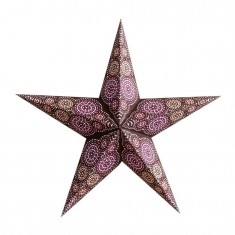'Rondo' Brown - Large Paper Star Light