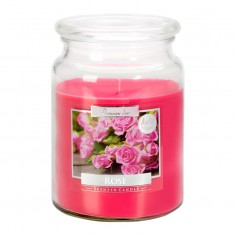 Rose - Scented Candle Large Jar Best Smelling Cheap