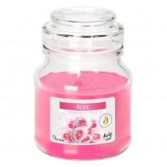 Rose - Scented Candle Small Jar Best Smelling Cheap