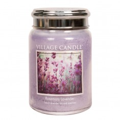Rosemary Lavender -  Village Candle Large Jar