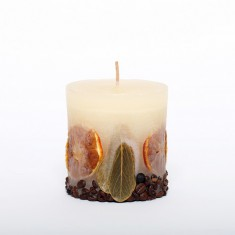 Nature Candle Cyllinder Small