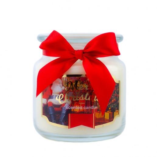 Santa Claus Scented Candle in Medium Jar