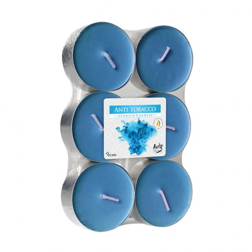 Scented tea Lights 10h - Anti Tobacco