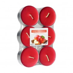 Scented tea Lights 8h - Apple Cinnamon