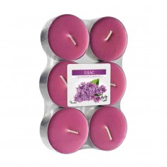 Scented tea Lights 8h - Lilac
