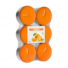 Scented tea Lights 10h - Orange