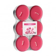 Scented tea Lights 8h - Rose