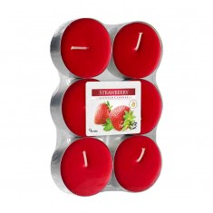 Scented tea Lights 8h - Strawberry
