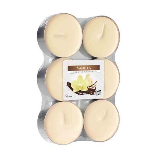 Scented tea Lights 10h - Vanilla
