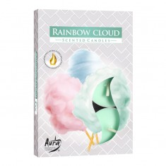 Scented Tea Lights 6pk - Rainbow Cloud