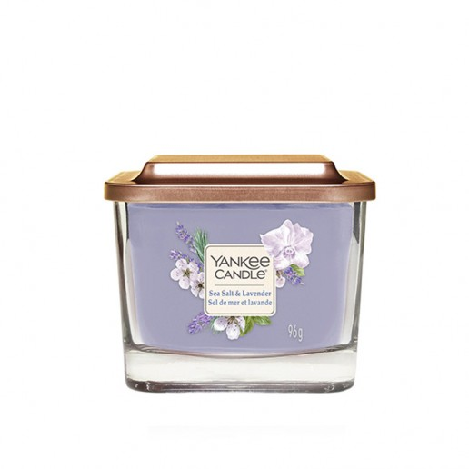 Sea Salt & Lavender - Small Jar Elevation Collection Yankee Candle