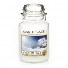 scented candles season of peace large jar