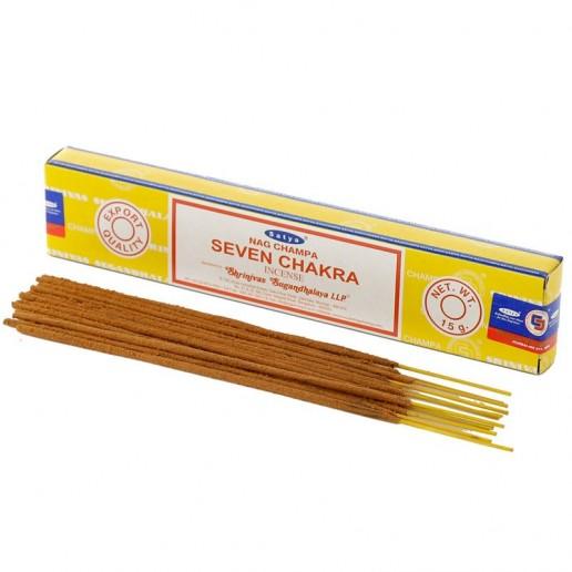 Seven Chakra - Satya Hand rolled Incense Sticks
