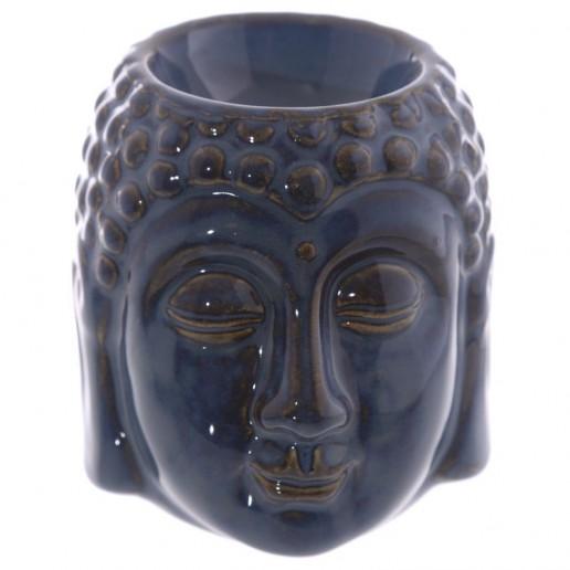Small Buddha Head Dark Blue