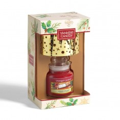 Small Jar With Shade - Yankee Candle Christmas Gift Set 2020 Candlemania angle