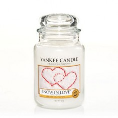 Snow in Love - Yankee Candle Large Jar