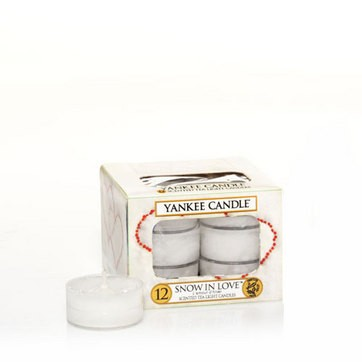 Snow in Love - Yankee Candle Tea Lights