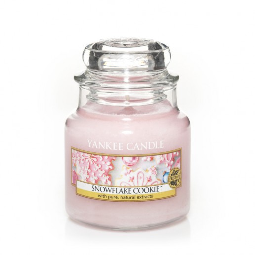 Snowflake Cookie - Yankee Candle Small Jar